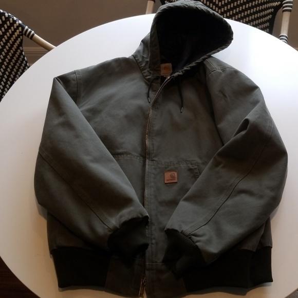 35a12ccda03 Carhartt Jackets & Coats   J280 Washed Duck Active Jacket Quilt ...